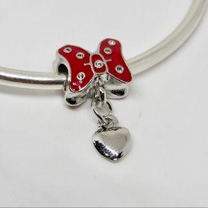 Handmade Minnie Mouse Bow Dangle